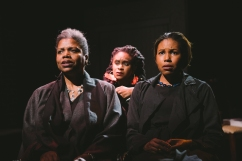 Photo by Mae Koo Photography. Lorinda Hawkins Smith, Kacie Rogers, and Cloie Wyatt Taylor in THE WILLOWS